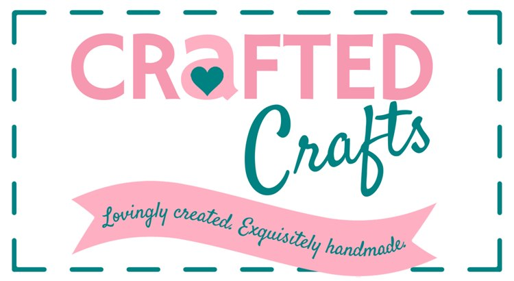 Crafted Craft Logo Rectangle