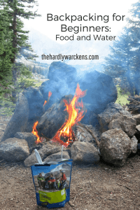 Backpacking freeze dried dehydrated food