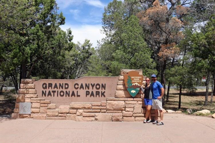Grand Canyon National Park sign