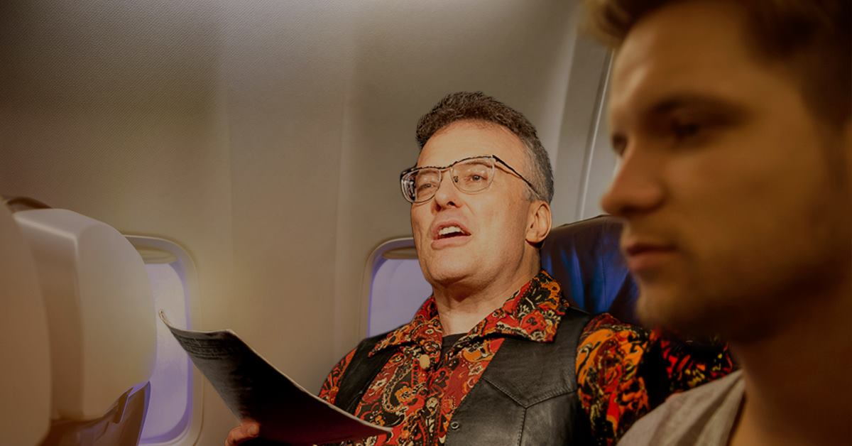 Lucky Airline Passenger Wins Free Five-Hour Spoken Word Concert by Jello Biafra