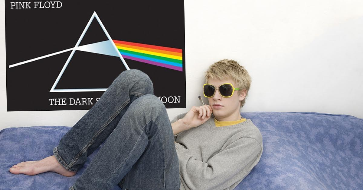 College Student Discovers Pink Floyd Syncs up Perfectly With Failing Grades, Loss of Friends