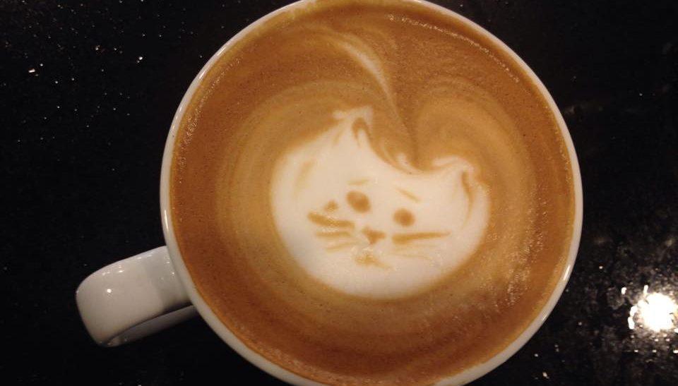 Barista's Seasonal Depression Reflected in Latte Art