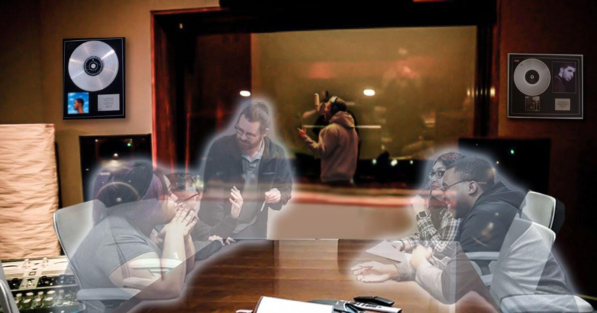 Drake's Studio Haunted by Ghostwriters