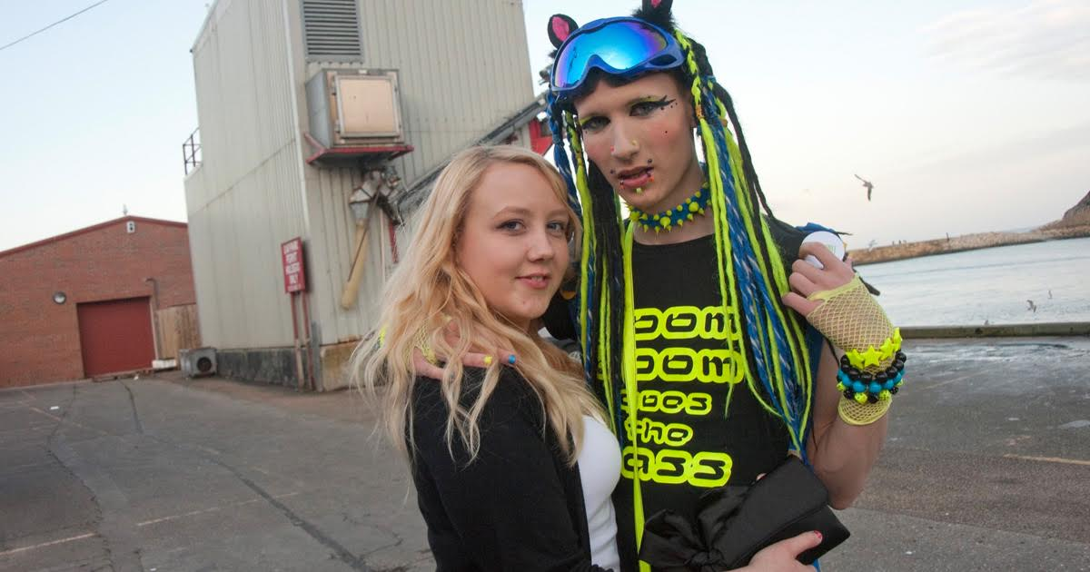 Amazing: This Guy Gave up His White Privilege to Be a Cybergoth