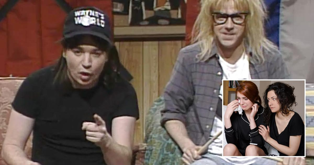 The Top 5 Wayne's World References to Use on a Grieving Loved One