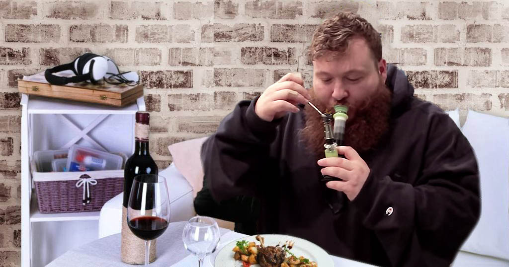 Action Bronson Dabs 10 Ounces of Duck Confit