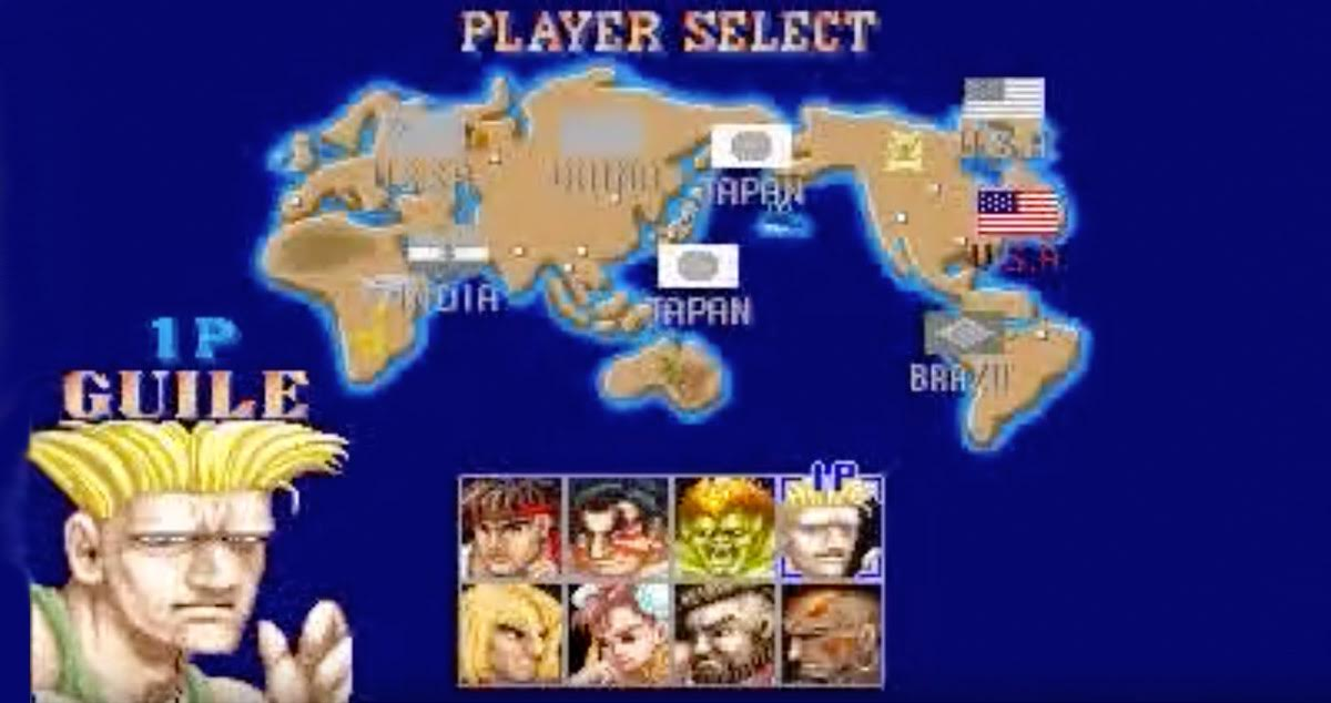 Every Time You Play as Guile in Street Fighter II You Support U.S. Imperialism