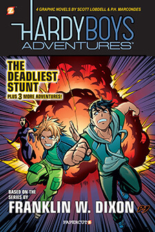 Hardy Boys Graphic Novels from Papercutz Vol 2 – Details and Cover Art