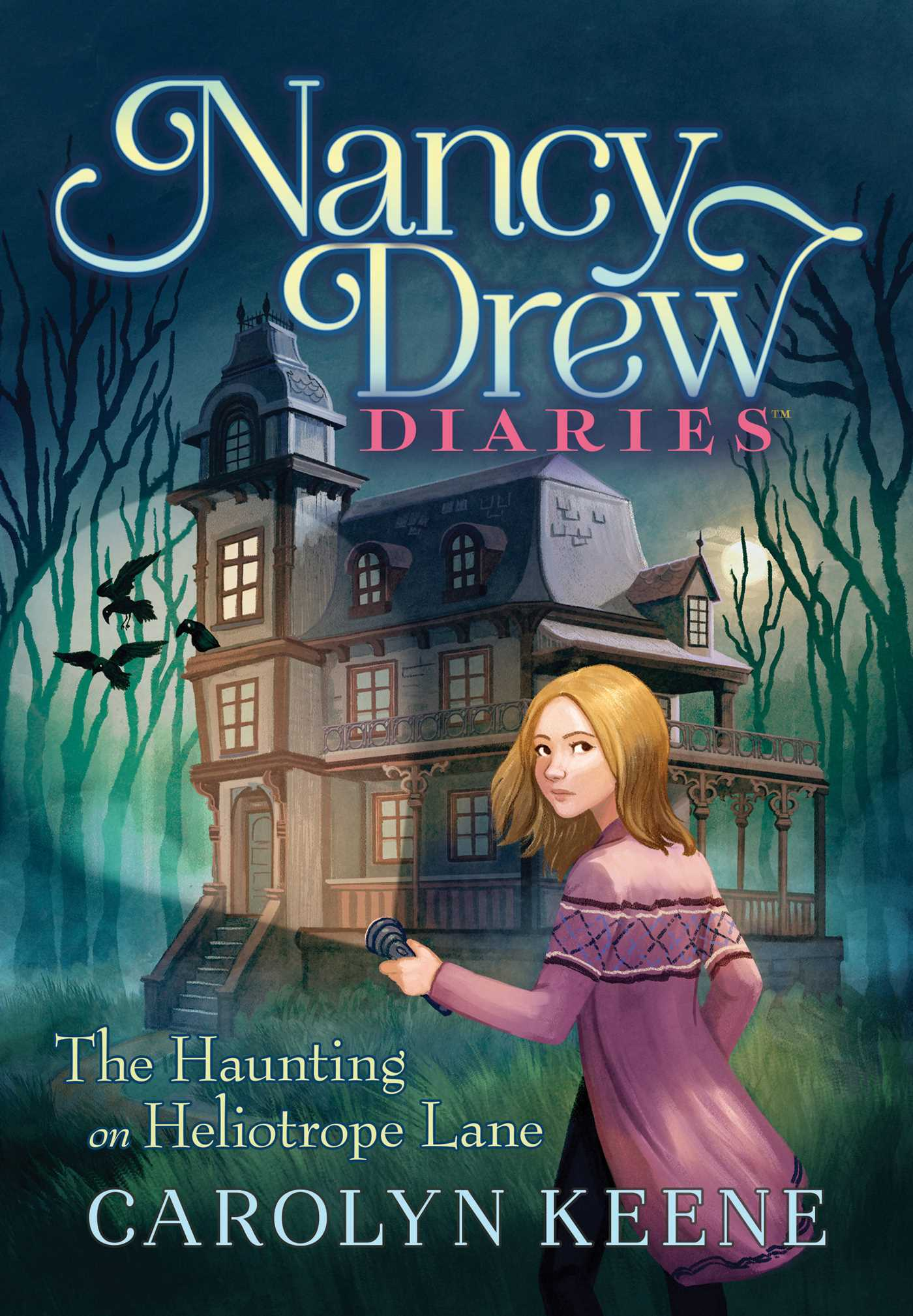 Nancy Drew Diaries #16 The Haunting on Heliotrope Lane – Cover Art and Details