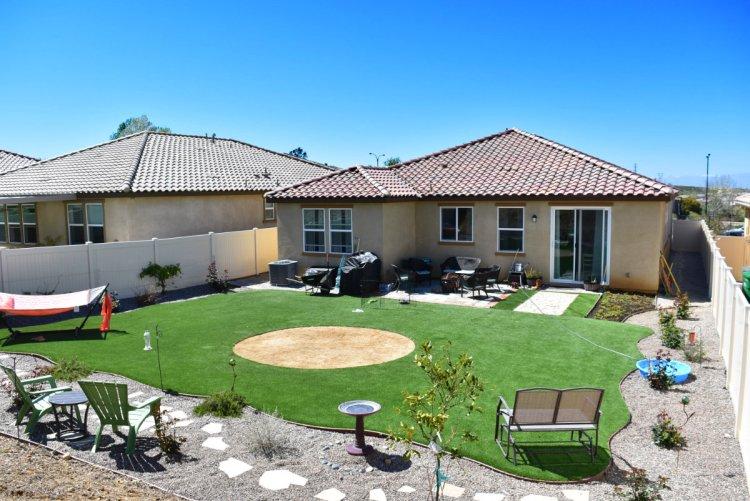 11340 Michelle Lane Beaumont CA 92223 Backyard