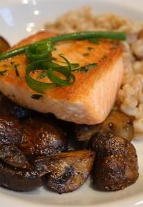 Miso Tarragon-glazed Salmon