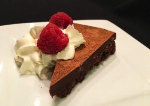 Bittersweet Chocolate Truffle Cake