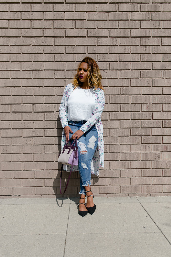 Hautemommie in STS Blue denim, Zara, and Kate Spade - more on the blog!
