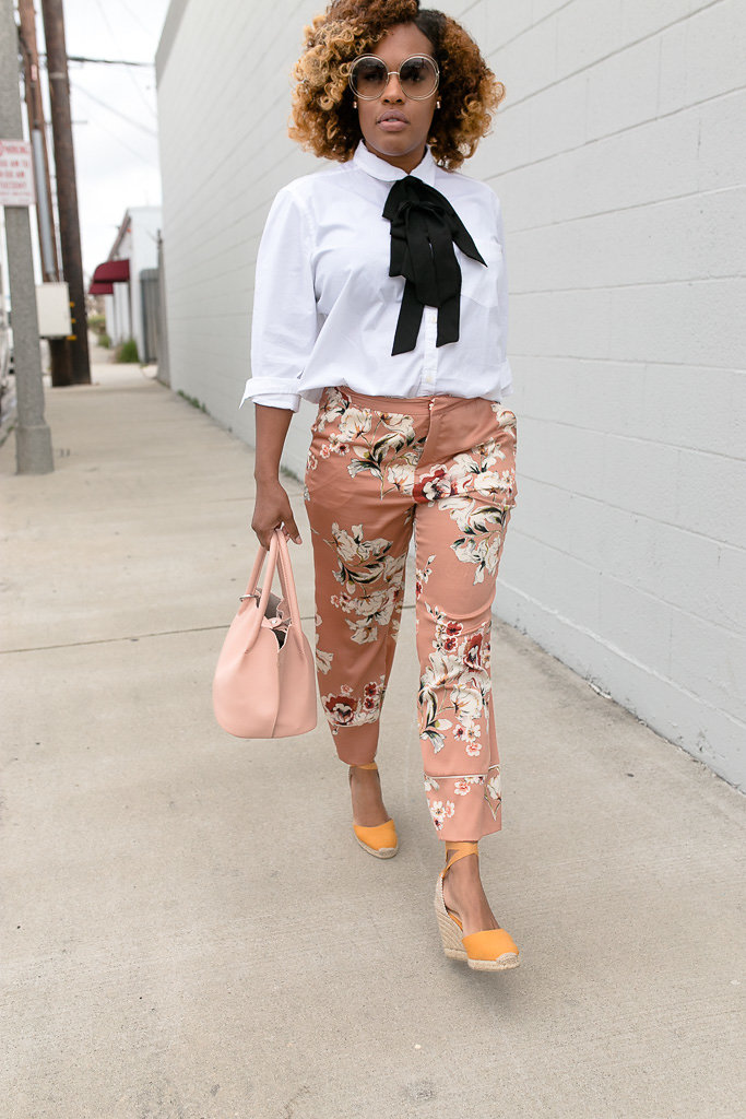 Hautemommie classes up some peachy PJs from Zara!