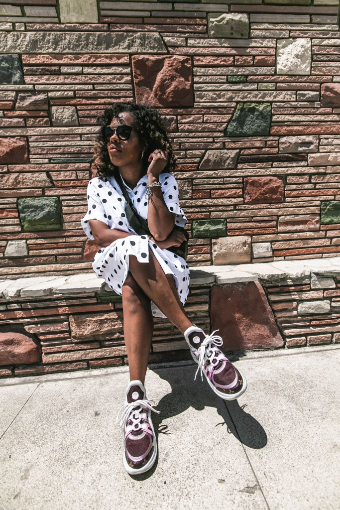 fashion blog, style blogger, Hautemommie, LA blogger, polka dot