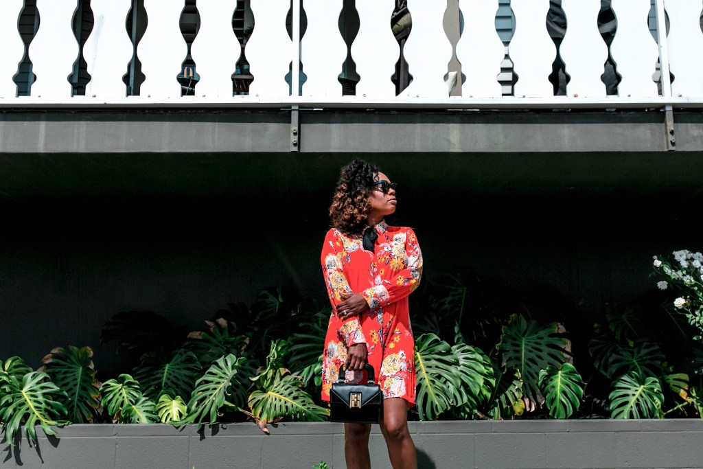 Hautemommie rocks her power red dress in this post all about entrepreneurship and inspiration.