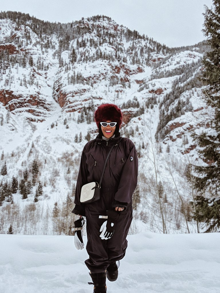 Wondering what Aspen is like, Hautemommie hit the slopes - check out this adventure!
