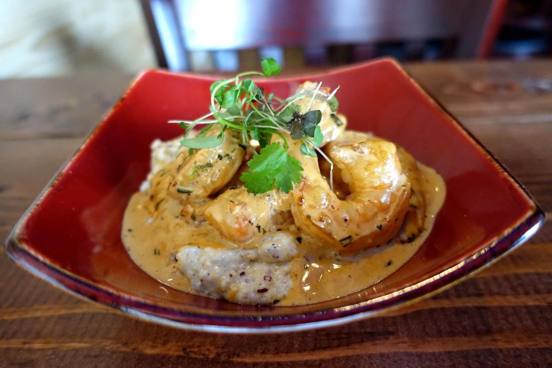 Shrimp-Grits-Southern-Luellas-Chicago-Black-Owned