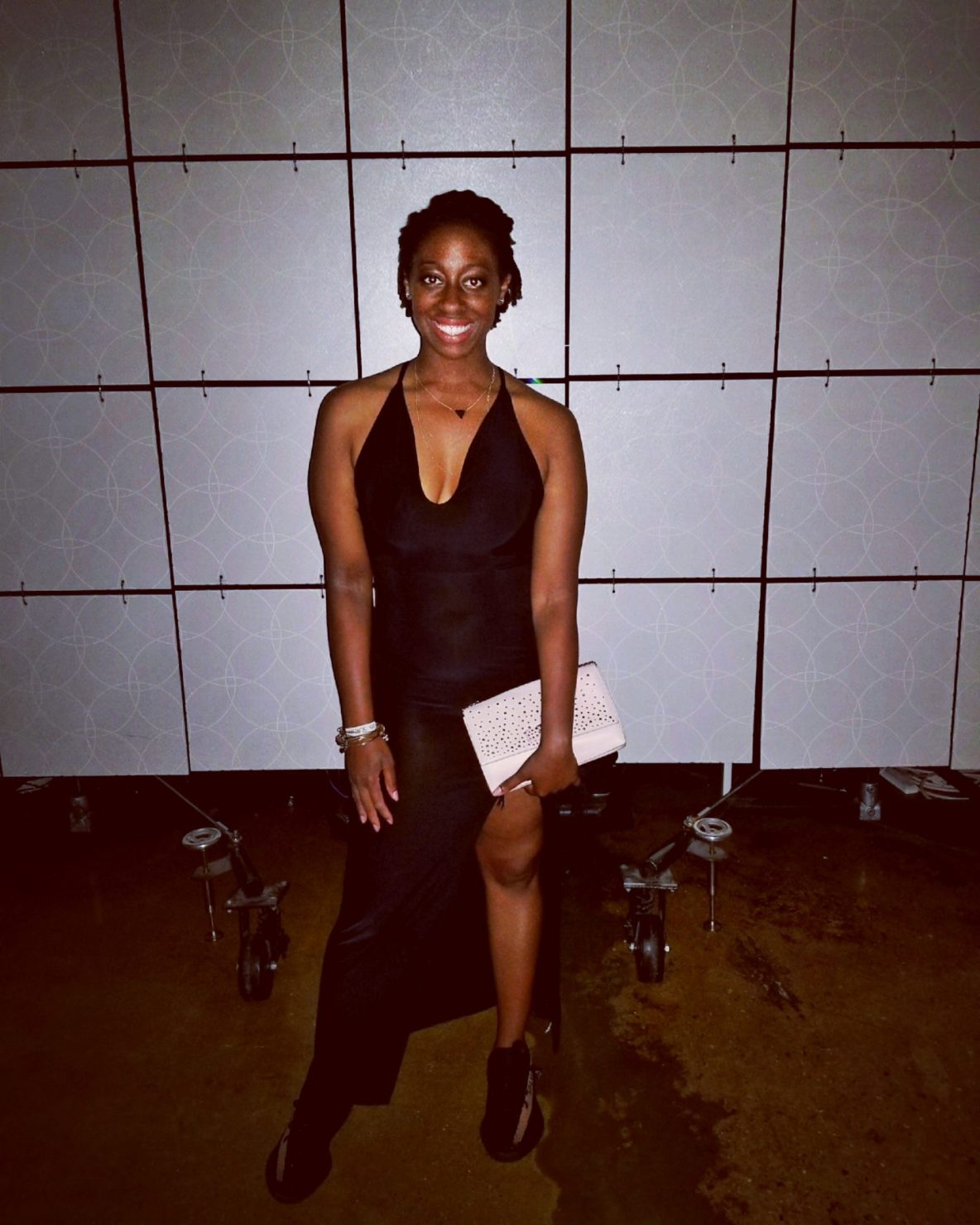 Taylor Justin(@thehauteseeker) at the 2nd Annual AGORA Sneakerball