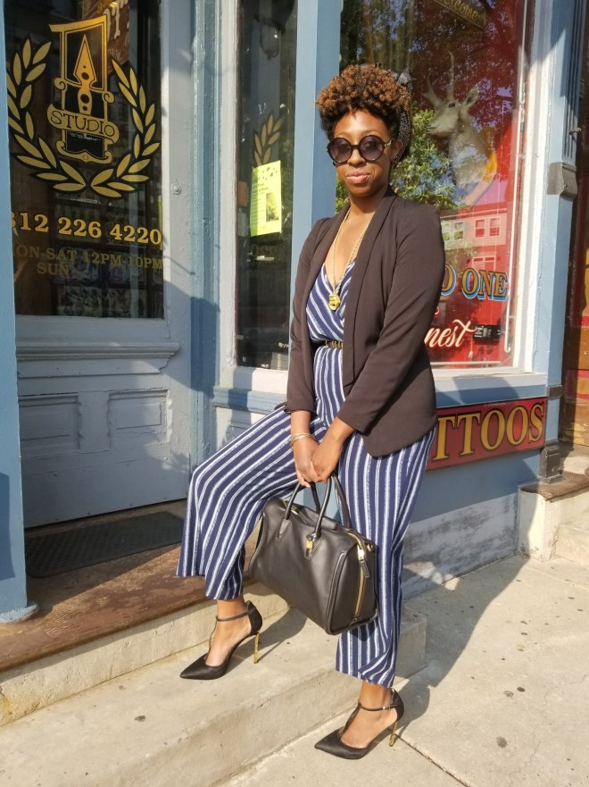 Office Ready  Jumpsuit Look 2 by The Haute Seeker