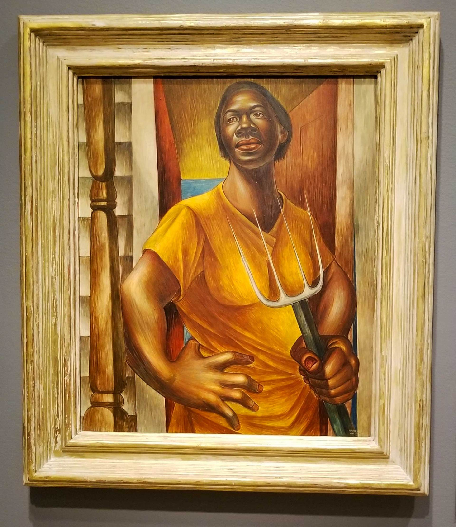 Charles-White-Tempera-Painting-Art-Institute-Chicago