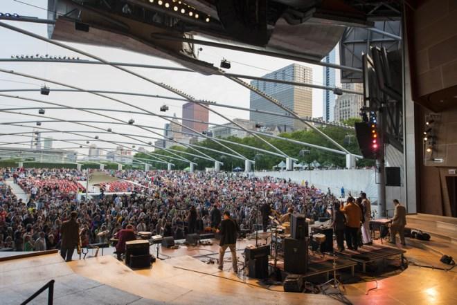 Chicago-Summer-Music-Series-Chicago-Millennium Park-Weeknight