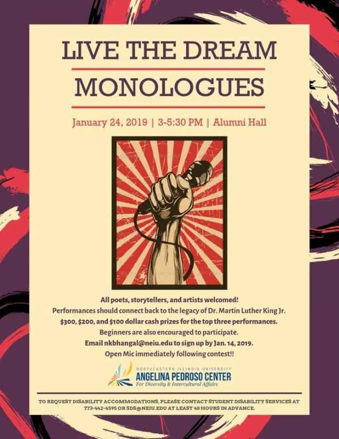 ad-chicago-events-mlk-day-Northeastern-Illinois-University-thehauteseeker
