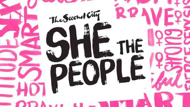 The Second City She the People comedy Chicago featured in ways to celebrate Women's History Month in Chicago on The Haute Seeker