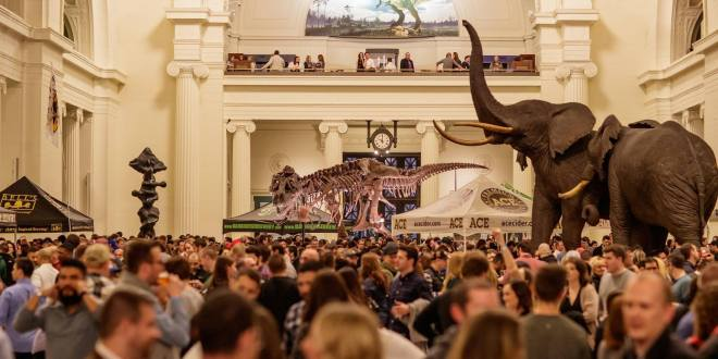 2019 Chicago Beer Fest at the Field Museum featured in the March Guide of Events in Chicago 2019 on TheHauteSeeker.com