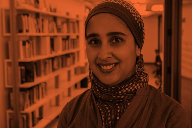 Nadiah Mohajir of HEART flyer for event at the Hull House in Chicago featured in ways to celebrate Women's History Month in Chicago on The Haute Seeker