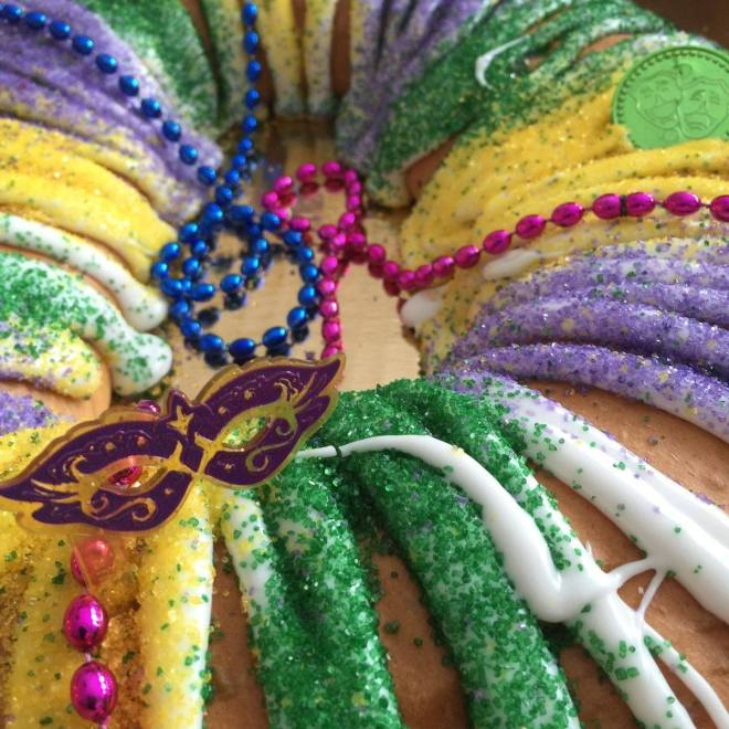 King Cake in the Weekend Seekers Guide of Things to Do in Chicago Feb 28th through March 3rd on TheHauteSeeker.com