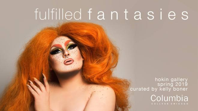 Fulfilled Fantasis at Columbia College Chicago photo by Adam Ouahmane featuring Valentine Addams flyer in weekend seekers guide of things to do in chicago february 28th - march 3rd on thehauteseeker.com