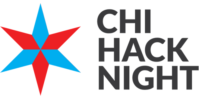 Chi Hack Nigh flyer.Image featured on The Haute Seeker list of cool and cheap things to do on a weekday in chicago