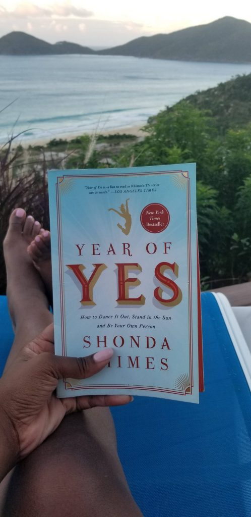 The Year of Yes book cover by Shonda Rhimes.