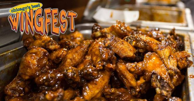 Chicago WingFest featured in the april 11th - 14th 2019 weekend seekers guide of things to do on The Haute Seeker.