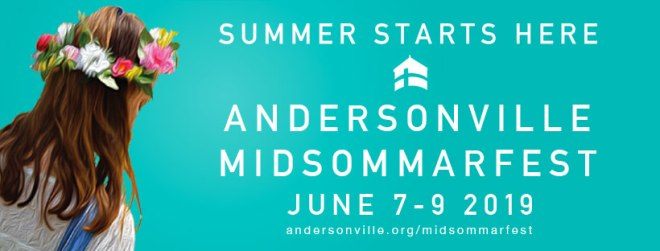 Andersonville Midsommarfest flyer in The Haute Seeker