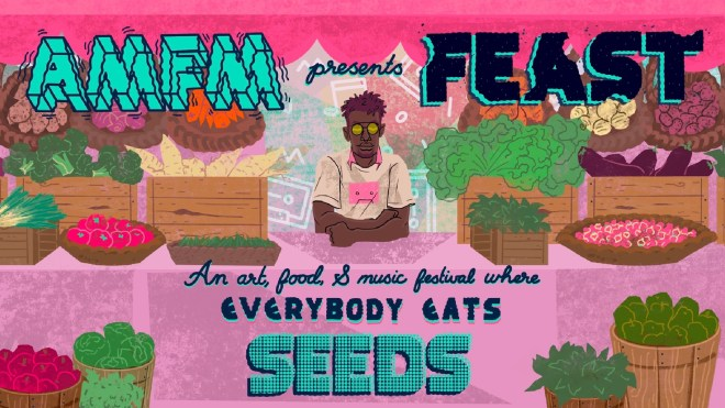 AMFM FEAST Chicago Food Justice event flyer feature on The Haute Seeker
