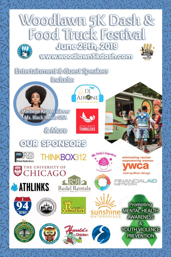 2019 Woodlawn Food Truck Festival as featured on The Haute Seeker in July 27th - 30th 2019 events in Chicago