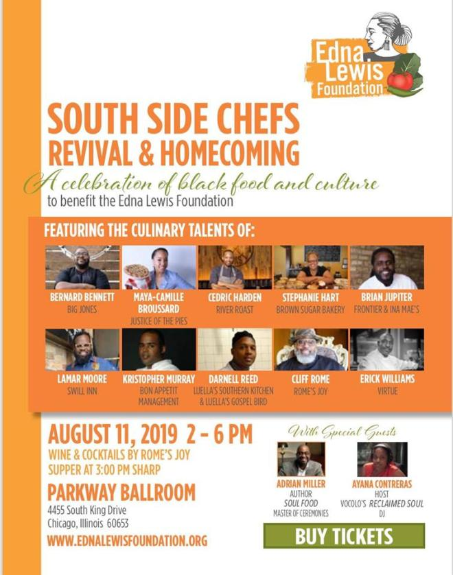 South Side Chefs Revival & Homecoming featured in August Events Guide 2019 on The Haute Seeker