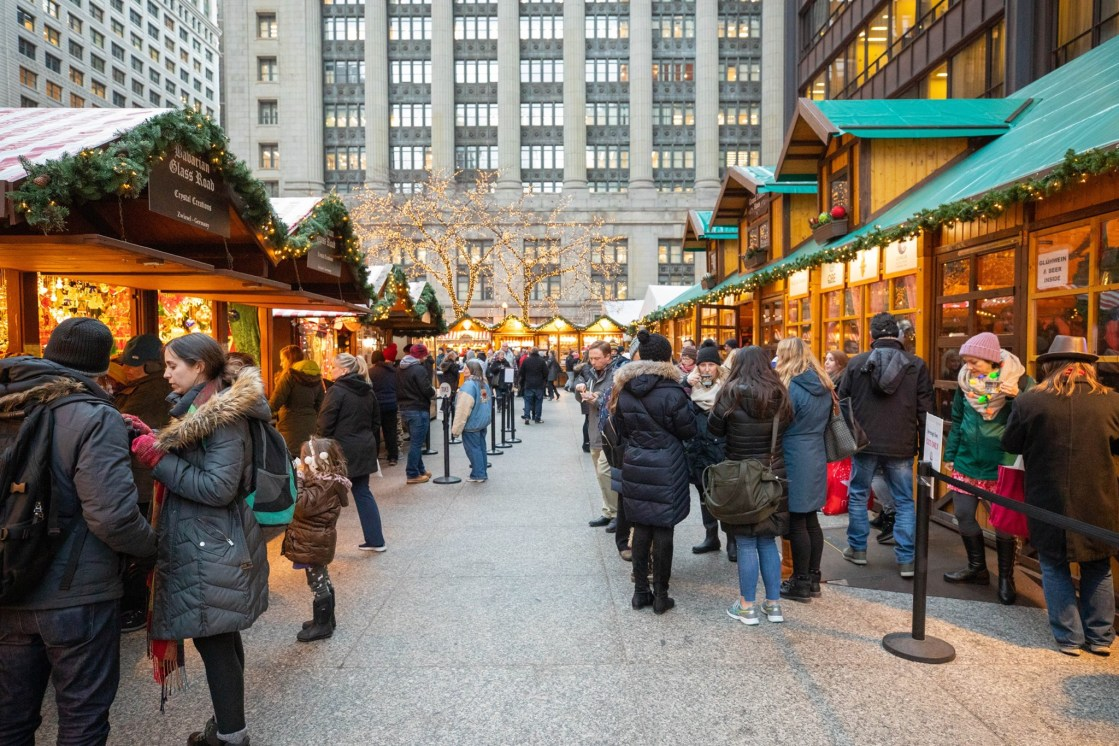 Christkindl Market Chicago as featured on The Haute Seeker