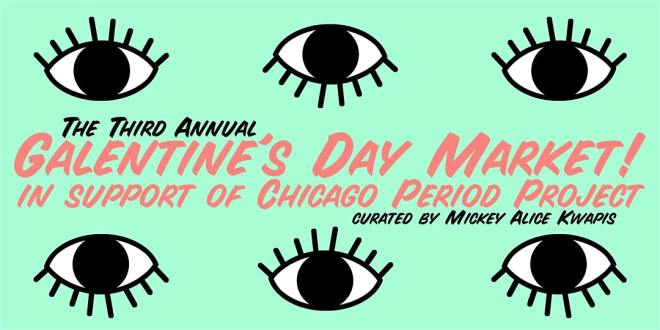 Galentine's Day Market flyer in Chicago Valentines Day The Haute Seeker