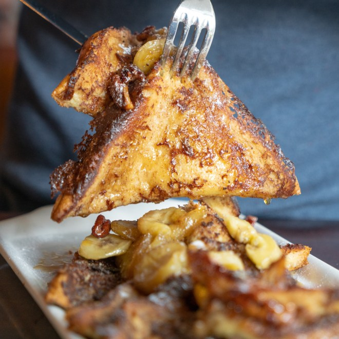 French Toast at 25 Degrees in Chicago as featured in The Haute Seeker Bottomless Brunch Guide