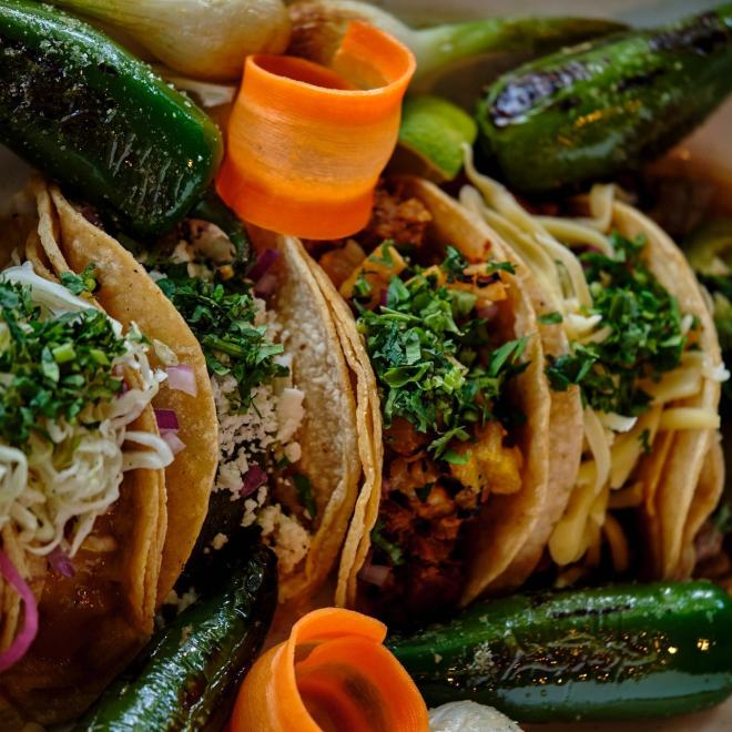 Tacos from Americao's Chicago Local Chicago Food featured on The Haute Seeker