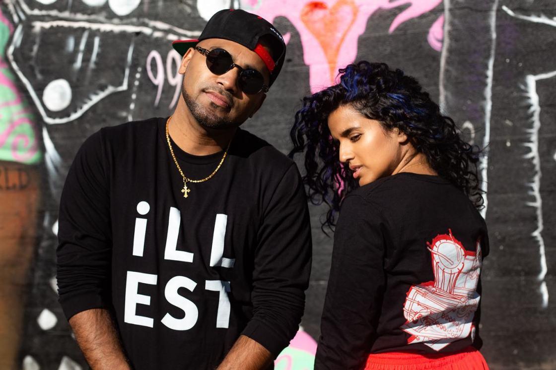 DJ illest and Shereene Manimala Seek like a Local Chicago