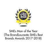 Man of the Year (The BrandLaureate SMEs BestBrands Awards 2017-2018)