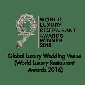 Luxury Wedding Venue (Global) (World Luxury Restaurant Awards 2016)