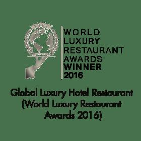 Luxury Hotel Restaurant (Malaysia) (World Luxury Restaurant Awards 2016)