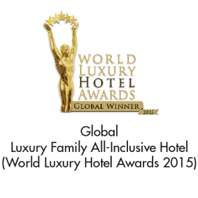 Global Winner: Luxury Family All-Inclusive Hotel (World Luxury Hotel Awards 2015)