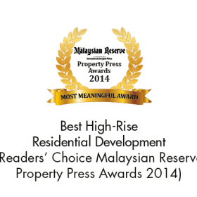 Best High-Rise Residential Development (Readers' Choice The Malaysian Reserve Property Press Awards 2014)