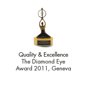 Quality & Excellence (The Diamond Eye Award 2011, Geneva)